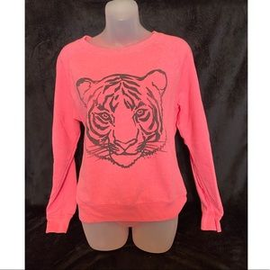 VS PINK Tiger Logo Sweatshirt Small
